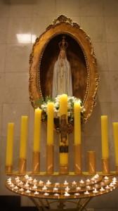 Instalado novo nicho de Nossa Senhora